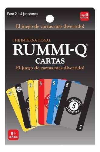 Juego de mesa rummi-q cartas caja