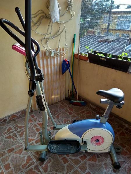 Magnifica bicicleta eliptica sistema magnetico