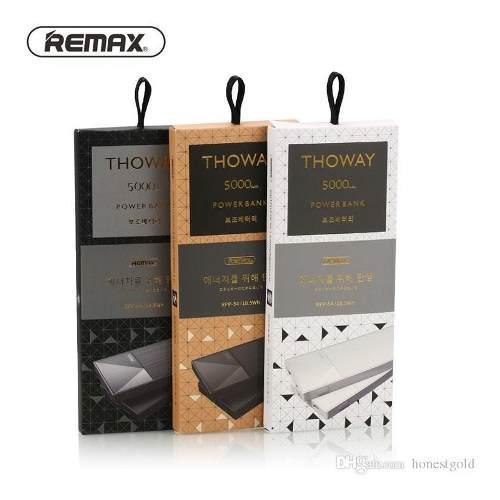 Remax Rpp-54 Power Bank 5000mah Cargador De Batería