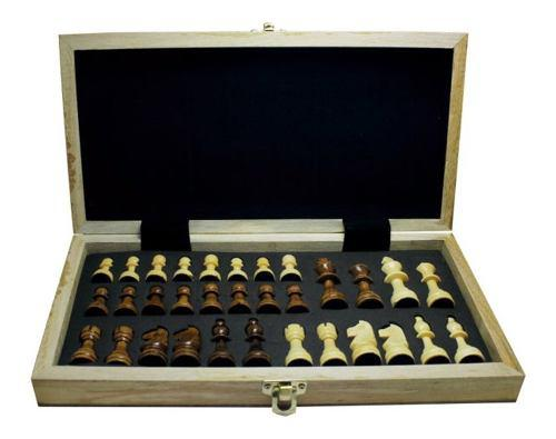 Tablero ajedrez plegable santolee 29cm juego de mesa 28613