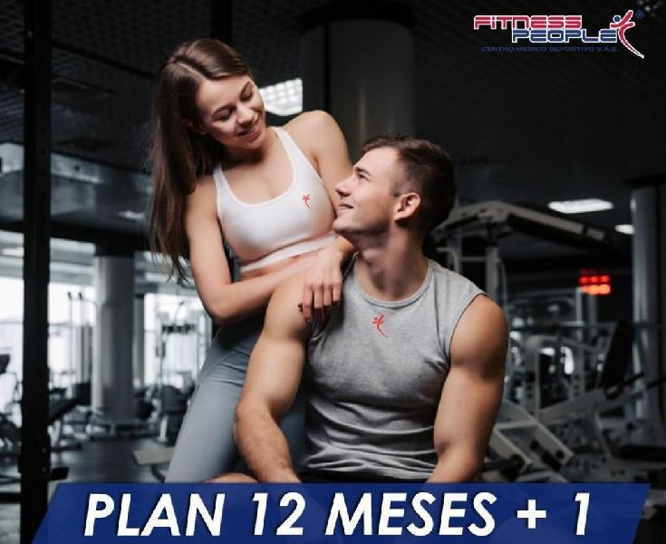 Vendo plan 13 meses fitness people