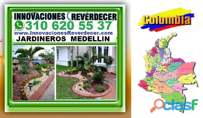 ⭐ INNOVACIONES REVERDECER Medellin, JARDINERO, VIVERO, SILLETAS, Bello, Itagui, Envigado, Apartado, 7