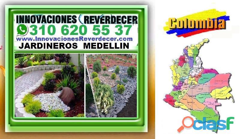 ⭐ INNOVACIONES REVERDECER Medellin, JARDINERO, VIVERO, SILLETAS, Bello, Itagui, Envigado, Apartado, 5