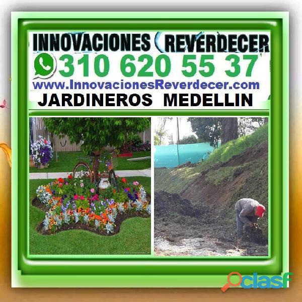 ⭐ INNOVACIONES REVERDECER Medellin, JARDINERO, VIVERO, SILLETAS, Bello, Itagui, Envigado, Apartado, 4