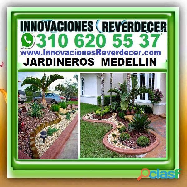 ⭐ INNOVACIONES REVERDECER Medellin, JARDINERO, VIVERO, SILLETAS, Bello, Itagui, Envigado, Apartado, 3