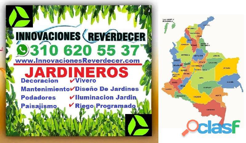 ⭐ INNOVACIONES REVERDECER Medellin, JARDINERO, VIVERO, SILLETAS, Bello, Itagui, Envigado, Apartado, 12