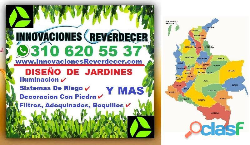 ⭐ INNOVACIONES REVERDECER Medellin, JARDINERO, VIVERO, SILLETAS, Bello, Itagui, Envigado, Apartado, 14