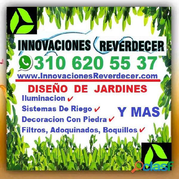 ⭐ INNOVACIONES REVERDECER Medellin, JARDINERO, VIVERO, SILLETAS, Bello, Itagui, Envigado, Apartado, 16