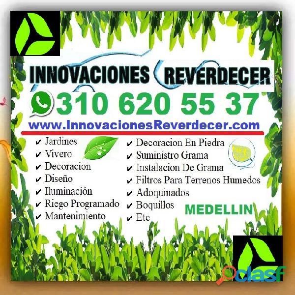 ⭐ INNOVACIONES REVERDECER Medellin, JARDINERO, VIVERO, SILLETAS, Bello, Itagui, Envigado, Apartado, 17