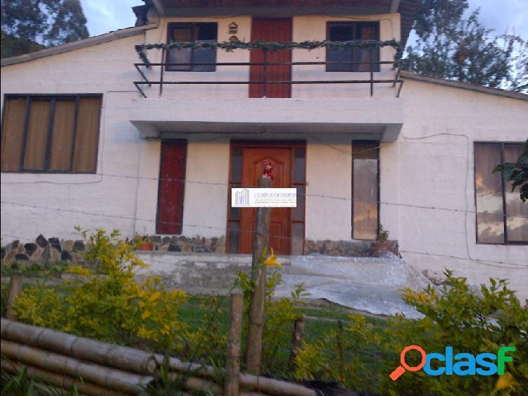 Casas campestres- via termales- venta
