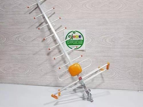 Antena aerea tdt en aluminio 80cms mejora tu señal