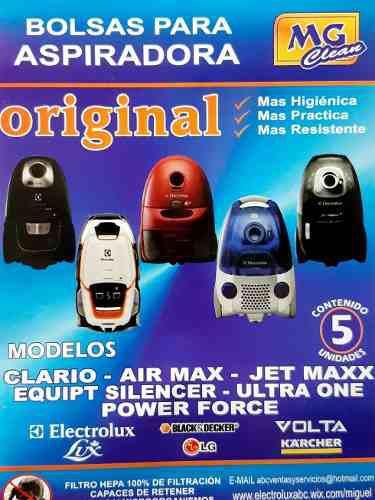 Bolsas ultra silencer aspiradora electrolux usg 30