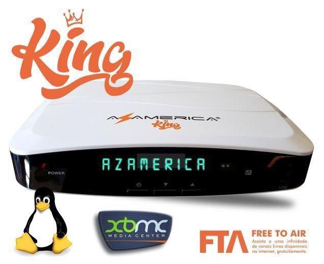 Equipo fta azamerica king hd wifi twin linux
