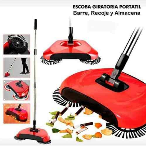 Escoba Barredora Manual 360° Sweep Drag All-in-one Verde