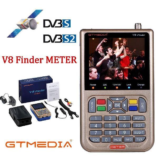 Gt media/freesat v8 finder meter dvb-s2/s2x digital