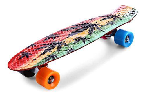Patineta Skate Tipo Penny Mini Graffiti Y Unicolor