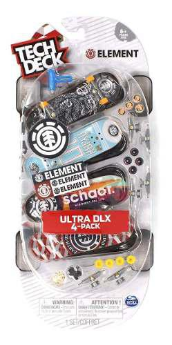 Patinetas Ultra Dlx Fingerboard Pack