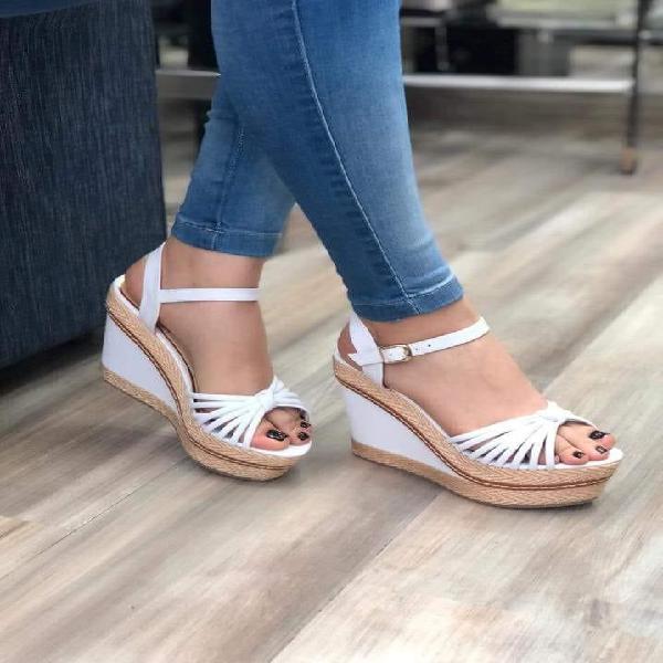 Sandalias con plataforma comodas con envio gratis en