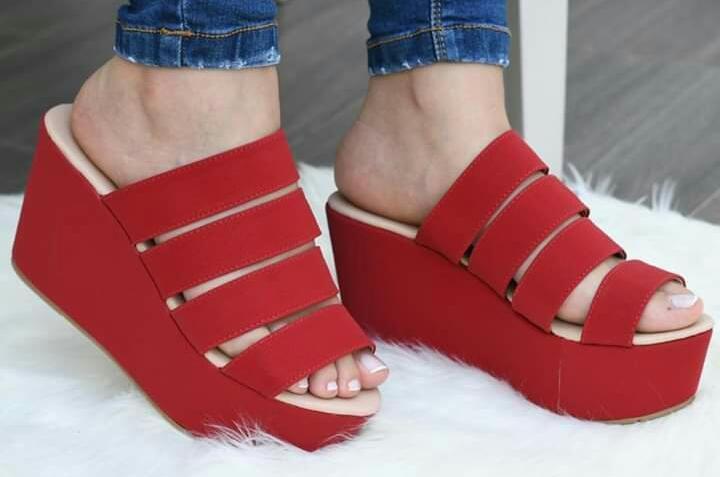 Sandalias con plataforma hermosos modelos exclusivos