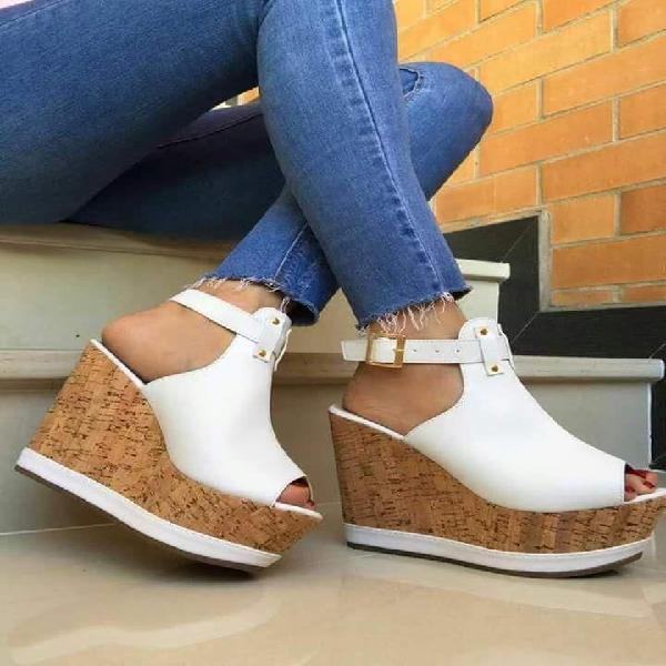 Sandalias con plataforma/calzado para todo tipo de ocasión