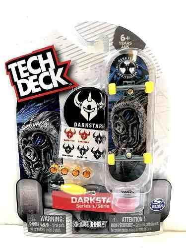 Tech Deck Darkstar Skateboards Series Diapasón Con Ad...