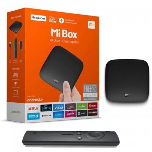 Xiaomi mi box tv box 3 android 2gb/8gbsmart 4k quad core hdr