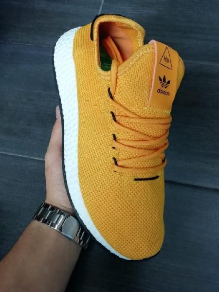 Zapatillas adidas hu amarillo 1.1