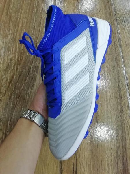 Zapatillas adidas predator gris azul