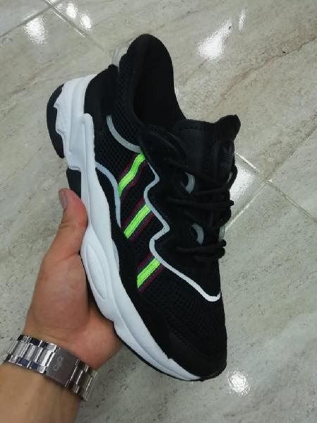 Zapatillas ozweggo negro verde original