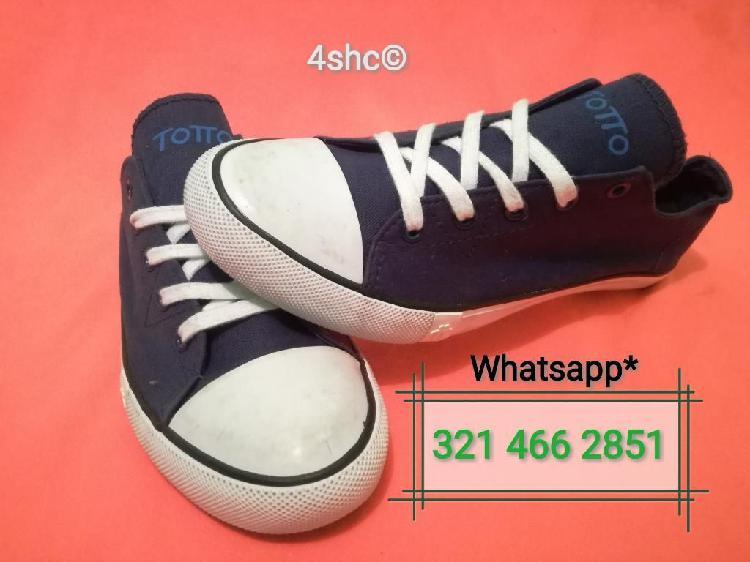 Zapatos azules marca totto talla 38-39