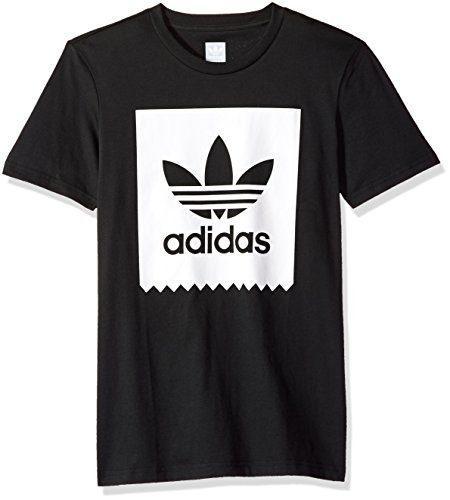 Adidas originals hombres skateboarding solid blackbird tee