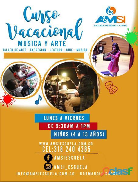 CLASES DURANTE LAS VACACIONES   Amsi Escuela.
