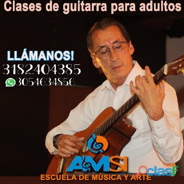 Cursos de guitarra para niños y adultos   amsi escuela