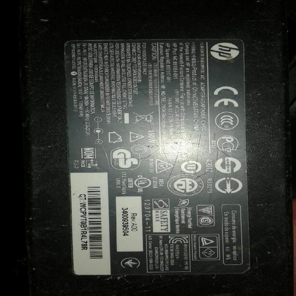 Adaptador corriente para todo en uno hp