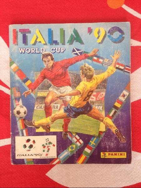 Albun de futbol mundial italia 90