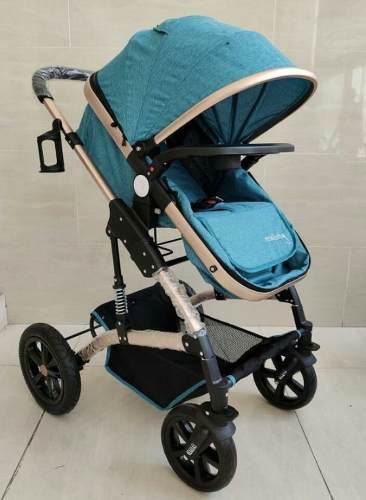 Coche para bebe tipo moises en aluminio maxy baby