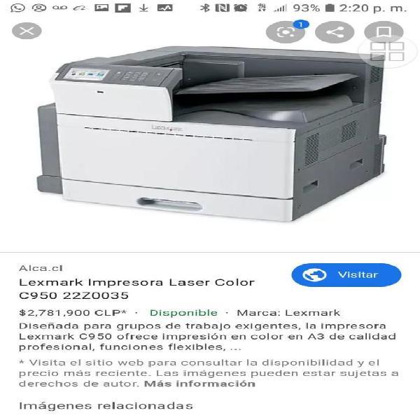 Impresora tabloide doble carta color