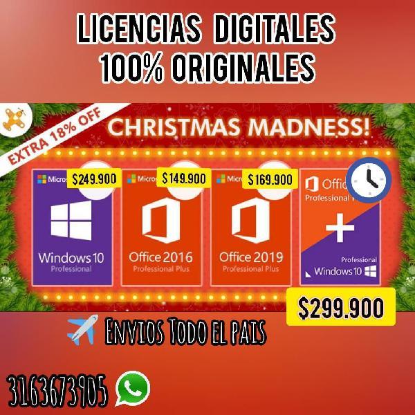 Licencias 100xciento Originales
