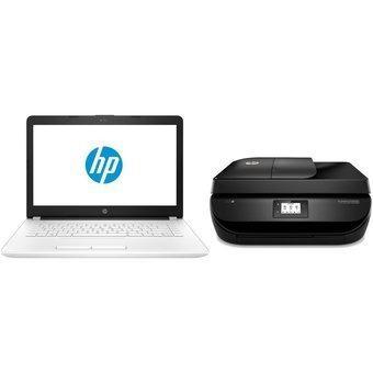 Combo Portatil Hp Con Impresora Multifuncional Original Hp