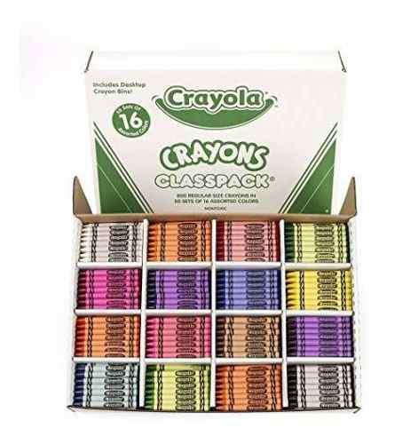 Crayola Classpack Crayón, Útiles Escolares, 16 Colores (5