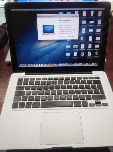 Macbook Pro2011 Intel Core I5 500 Dd 4g Ram 13.3 Pulgadas