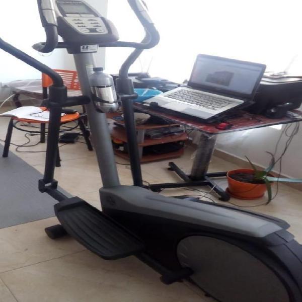 Maquina ejercicio elíptica magnética con rutinas