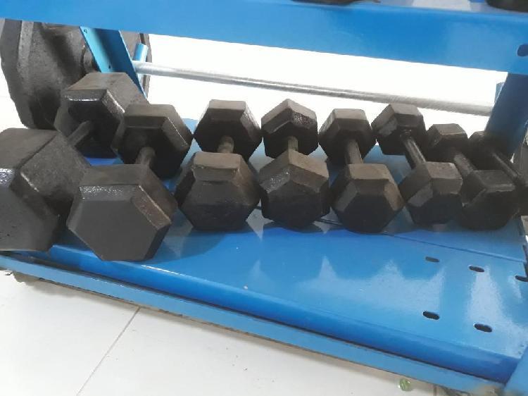 Peso para gimnasio
