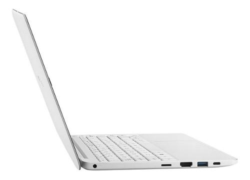 Portátil Asus E406sa Intel Quad 64gb 4gb Ultra Slim White