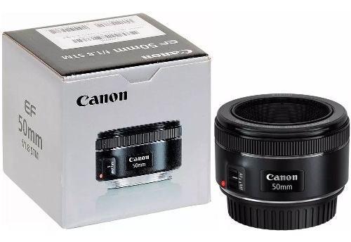 Lente canon 50mm f/1.8 stm