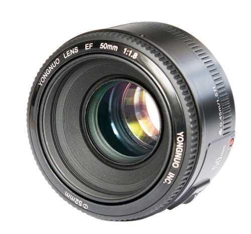 Lente yongnuo 50mm f/1.8 para canon
