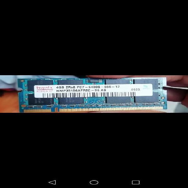 Memoria ddr2 4gb 1 modulo portatil