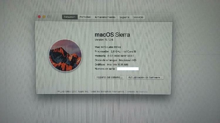 Vendo-cambio minimac 2014(apple)8gb-1tb