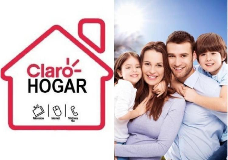 Para tu hogar claro y pagalo en enero