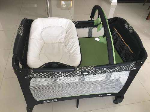 Corral - Cuna - Cambiador/moises Para Bebé - Marca Graco